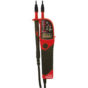 Voltage & continuity tester