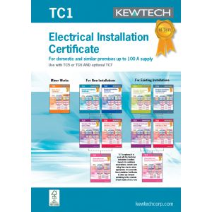 18th Edition Certification Book - Electrical Installation completion