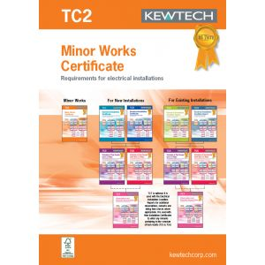 18th Edition Certification Book - Minor Works