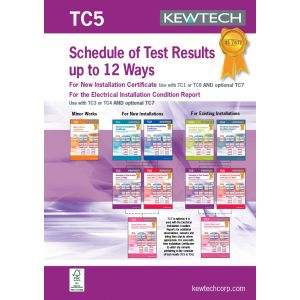 18th Edition Certification Book - Test & Inspection (Domestic)