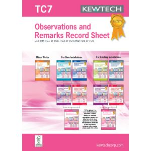 18th Edition Certification Book - Observation test