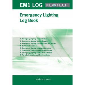 Safety Certificates - Emergency Lighting Maintenance Log