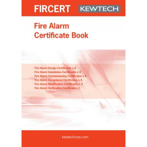 Safety Certificates - Fire Alarm Installation Certificate