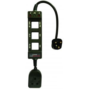 AC Line Splitter with Earth Leakage