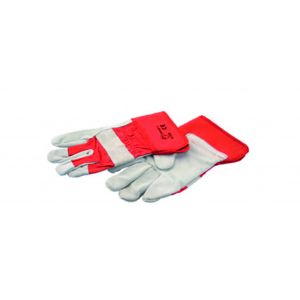 Large Heavy Duty Leather Industrial Gloves