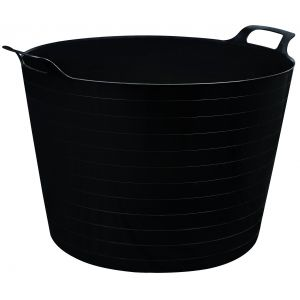 Multi Purpose Flexible Bucket Black - 40L