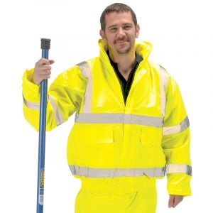 High Visibility Bomber Jacket - Extra Large
