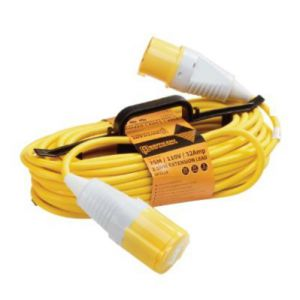 25M 110V H Frame Extension Leads - 16A 1.5mm