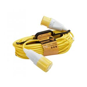 25M 110V H Frame Extension Leads - 32A 2.5mm