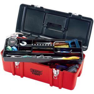 Heavy Duty Tool Box c/w Tote Tray - 580mm