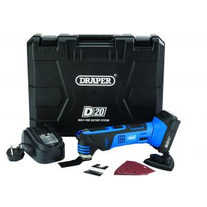 20V Oscillating Multi Tool c/w 2Ah Battery & Charger