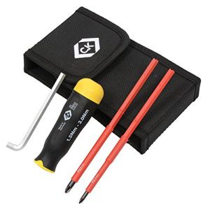 Torque screwdriver with VDE blades 1.5 to 3Nm