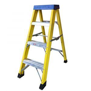 Fibreglass 4 Tread Step Ladder