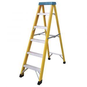Fibreglass 6 Tread Step Ladder