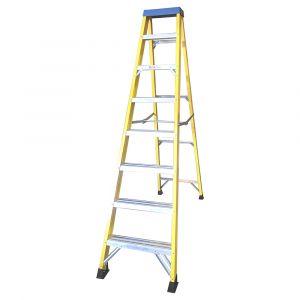 Fibreglass 8 Tread Step Ladder
