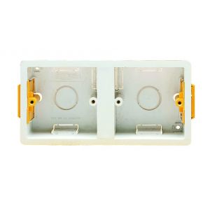 Dry Lining Boxes - Dual 1 gang 35mm