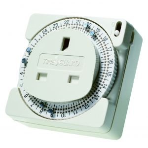 Analogue Time Controller - 24 hour plug-in pin