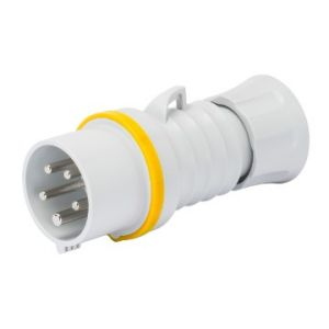 Industrial Plugs - IP44 rating - 2P+E 16A 110V 4H