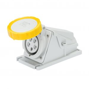 IP44 & IP67 90 degree Surface Sockets - 2P+E 16A 110V 4H