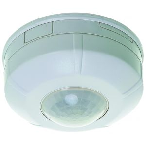 360 degree surface ceiling mounted round PIR presence detector