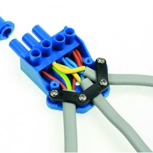 250V 20A 3 pin flow connectors with screw-down cord grip