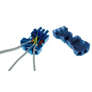250V 20A 3 pin flow connectors with fast-fit cord grip