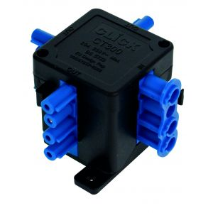 250V 20A 4 pin (1 in 3 out) flow hub junction box