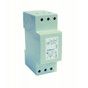 Bell transformer DIN rail mount 4/8/12V 1A