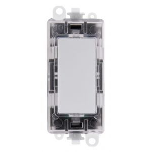Green transparent illuminated blank module