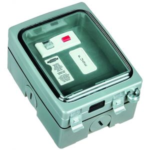 Single Gang 13A RCD Fused Spur
