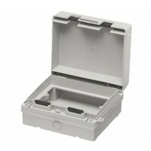 IP65 Rated double gang socket enclosure