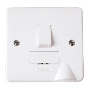 13 Amp Fused Connection Units - Switched c/w flex outlet