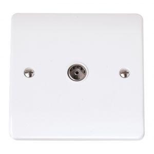Coaxial Sockets - Single TV/FM coaxial