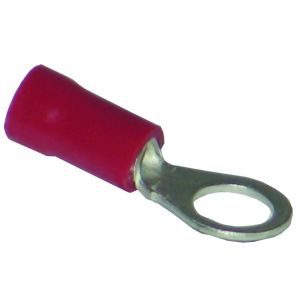Pre-Insulated Terminals Ring - 5.3mm red