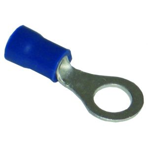 Pre-Insulated Terminals Ring - 6.5mm blue