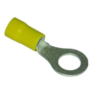 Pre-Insulated Terminals Ring - 8.5mm yellow