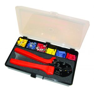 Terminal Kit Boxes - Pre-ins terminals 0.5-6mm c/w crimp tool (Qty 40)