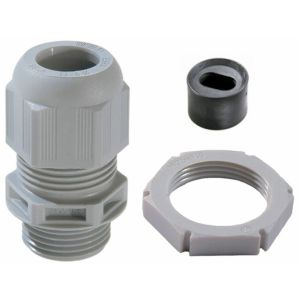Plastic IP68 Cable Gland LSF - ESKV 25/FFD for 2 x 2.5mm flat cable