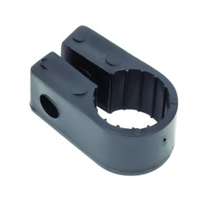 Black Polypropylene Cable Cleats - 17.8 (max) No.7 (Qty 100)