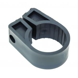 Black Polypropylene Cable Cleats - 30.5 (max) No.12 (Qty 50)