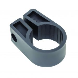 Black Polypropylene Cable Cleats - 35.5 (max) No.14 (Qty 50)