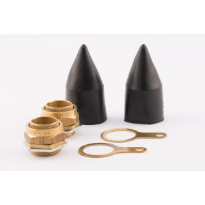 BW Indoor Gland - 32mm LSF (Qty 2) - Brass