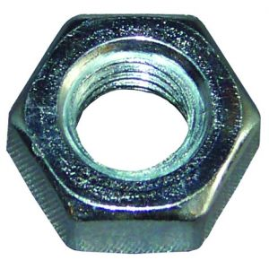 Hexagon Full Nuts - M6 (Qty 100) - BZP steel
