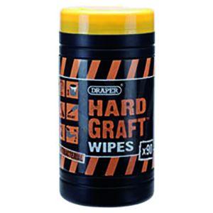 Tub of 100 Hard Graft multi purpose wipes