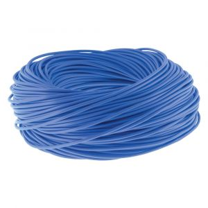 Cable Sleeving - 100m Hanks 3mm blue
