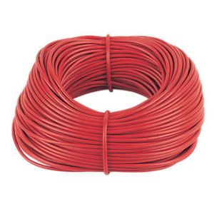 Cable Sleeving - 100m Hanks 3mm red