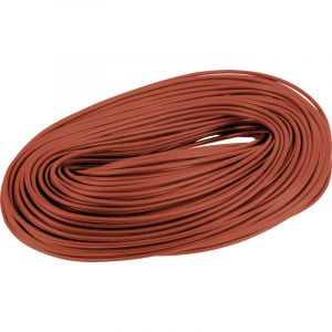 Cable Sleeving - 100m Hanks 3mm brown