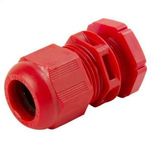 IP68 Nylon Cable Glands - 20mm (Qty 10) - Red