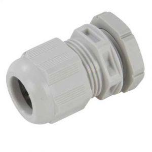 IP68 Nylon Cable Glands - 20mm (Qty 10) - Grey