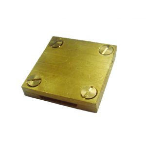 Earthing Accessories - Square tape clip 25mm x 3mm